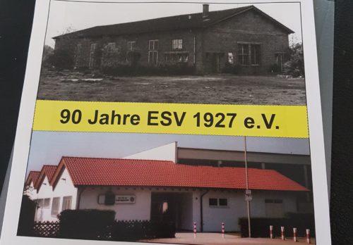 Marion Schneid gratuliert zu 90 Jahren ESV 1927 Ludwigshafen – Feierstunde des Eisenbahnersportvereins