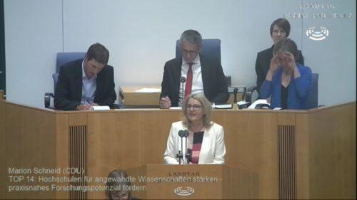 Rede von Marion Schneid: Entgegnung Aussprache Große Anfrage der AfD: Notengebung und deren Aussagekraft (mit Rede als Video)