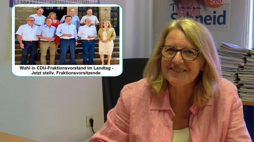VIDEO: Marion Schneid Informiert – Wahl in Vorstand der CDU-Landtagsfraktion – jetzt stellv. Fraktionsvorsitzende, Wechsel von Bildungs- zu Kultursprecherin im Stadtrat Ludwigshafen, Ausblick