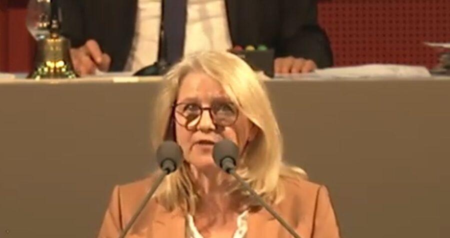 Rede von Marion Schneid: Neustrukturierung der Universitätsstandorte und Leibniz-Zentrum für Psychologische Information und Dokumentation (mit Video)